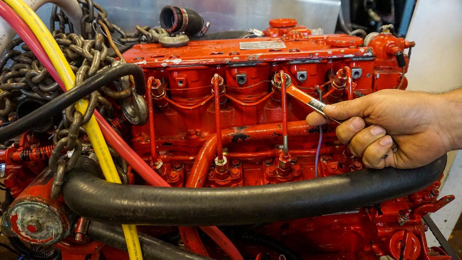 Cruiser's College's Diesel Engine Maintenance Class with Matt Mardesich