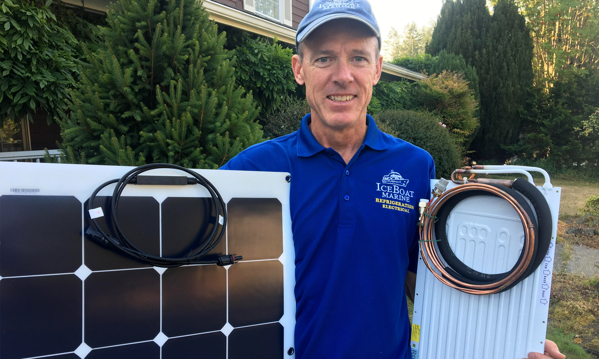 Cruiser's College Instructor Woody Wentworth teaches Solar Power and Refrigeration
