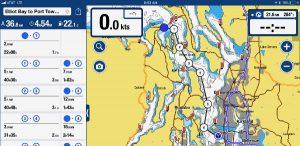 Elliot Bay to Port Towsend navigation image