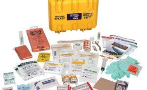 Items in medical kit
