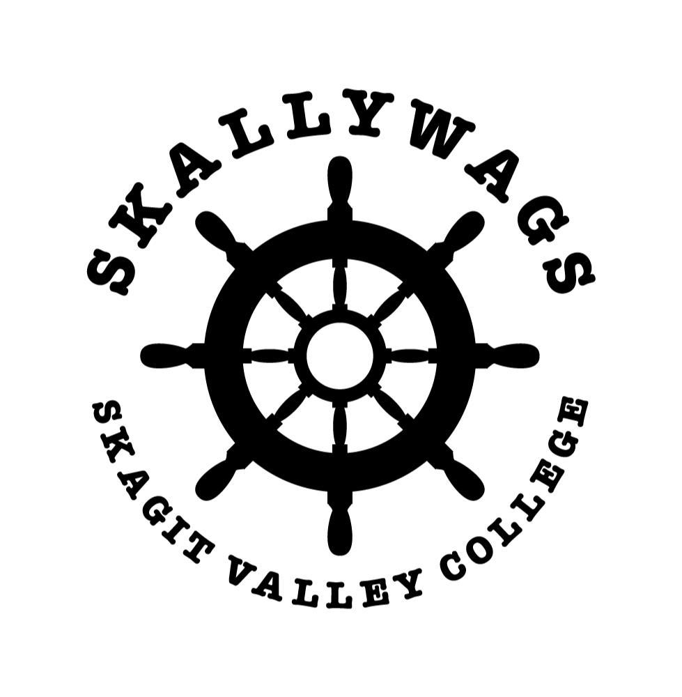 Logo of Skallywags group of Skagit Valley College