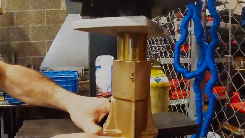 pressing cutlas bearing